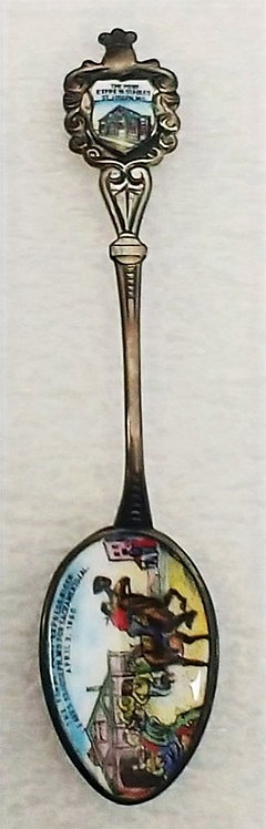 Pony Express Commemorative Spoon - San Francisco