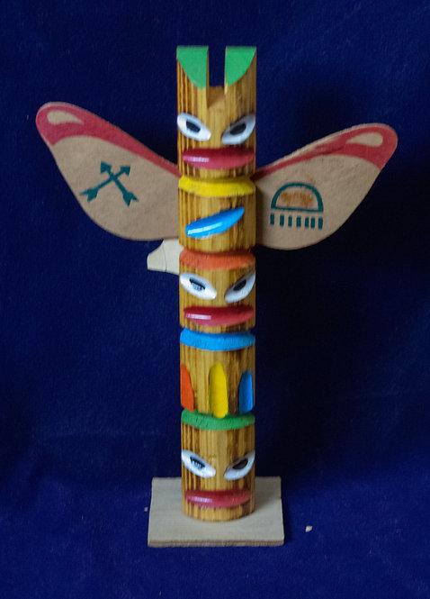 Miniature  Totem Pole
