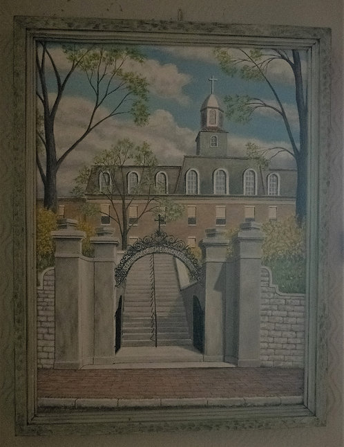 Convent of the Sacred Heart Oil Painting