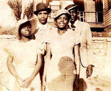 Grace Burton, Vernon Quincy, Agnes Quinc