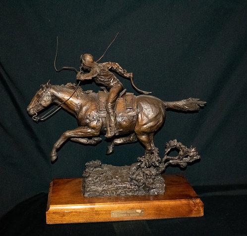 "Pony Express ""Urgent Message"" Statue"