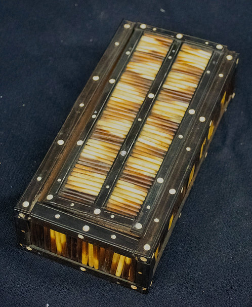 Porcupine Quill Box from Thailand