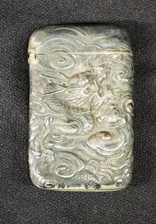 Silver Match Box from Thailand