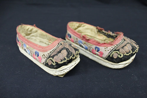 Chinese Shoes donated by Dr. F. P. Cronkite