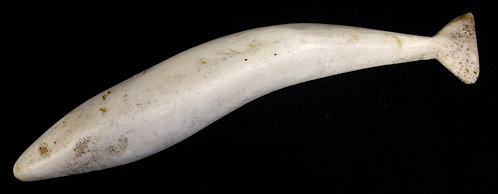Ivory Whale Carving