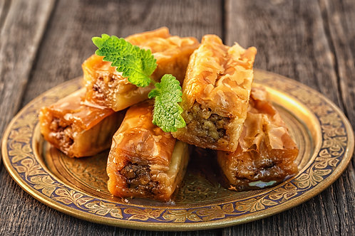 Walnut, Pistachio, and Cashew Baklava