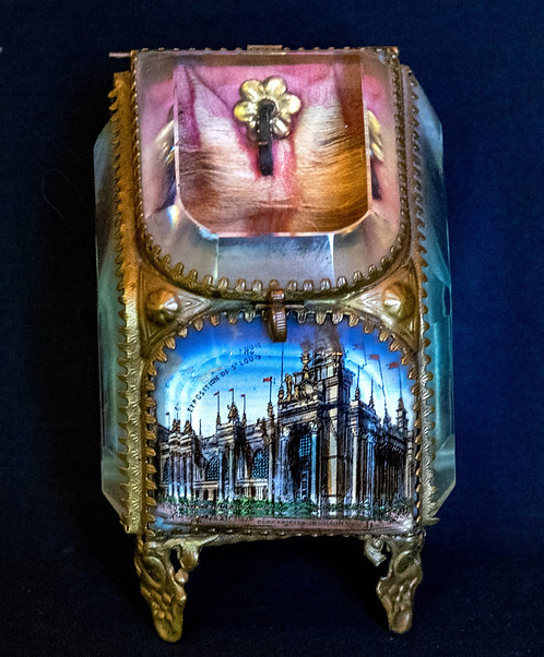 Glass 1904 St. Louis Exposition Watch Case