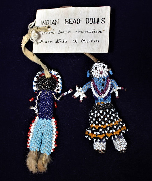 Small Beaded Dolls