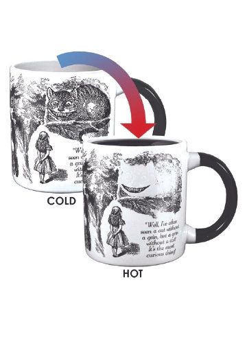 The Disappearing Cheshire Cat Mug