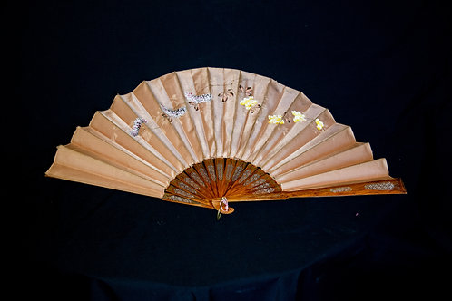 Fan Carried at the Chicago World's Fair in 1893