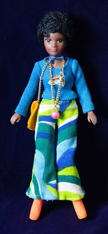 1970s African American Doll