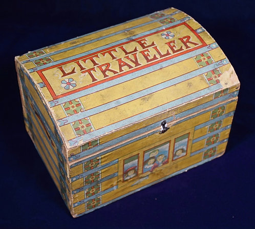"""Little Traveler"" Doll Trunk"