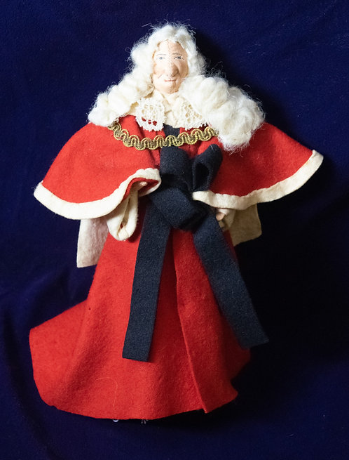 Lord Chief Justice Coronation Doll