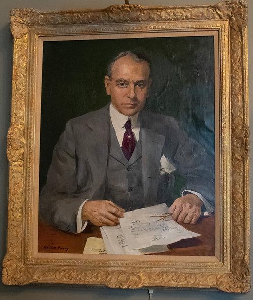 Milton Tootle Jr. Oil Painting