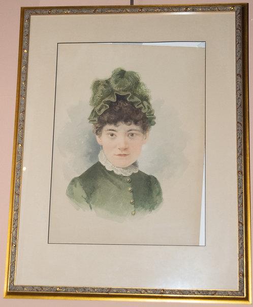 Juliette Owen Watercolor Painting