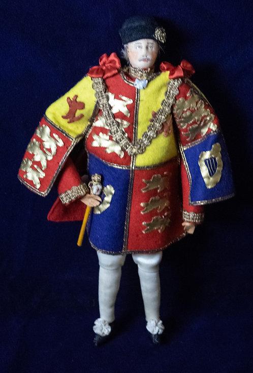 Garter King of Arms Coronation Doll