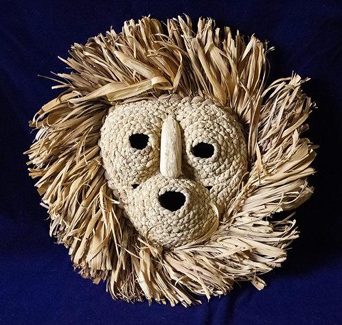 Iroquois Corn Husk Mask