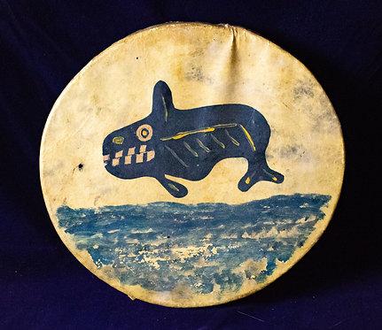 Tlingit Whale Drum