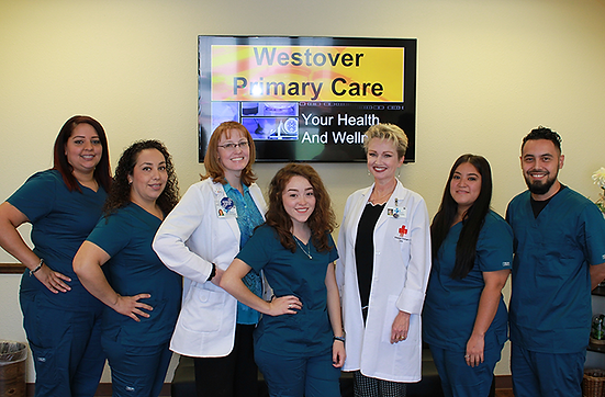 Westover Primary Care Providers and Staff