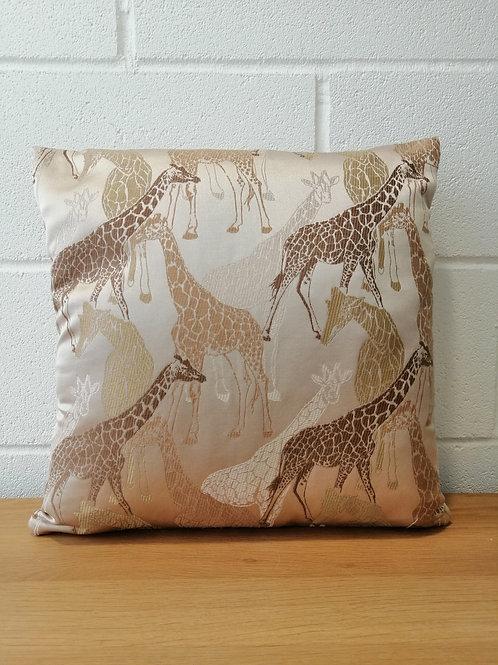 Giraffe Animal print cushion covers Sahara