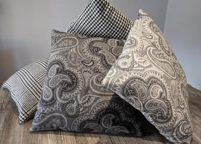 Designer Grey cushion covers soft furnishings uk