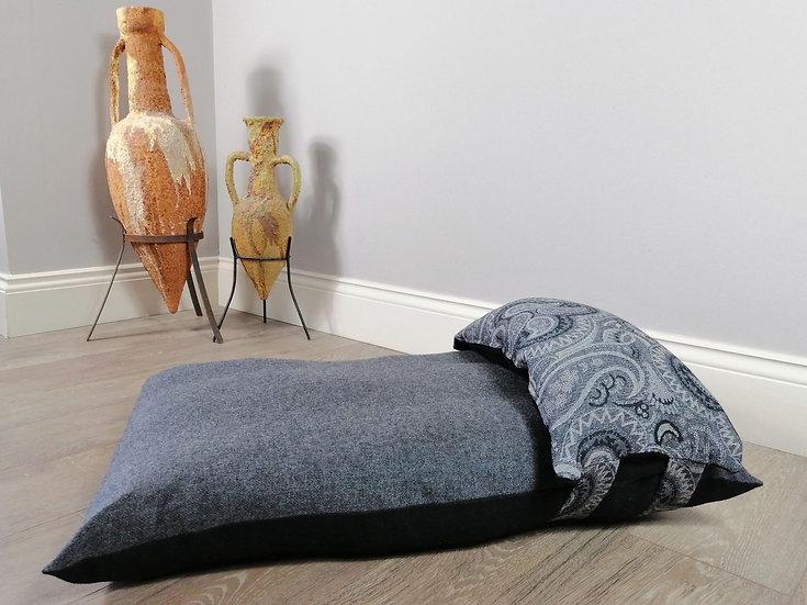 Luxury Grey designer dog beds UK