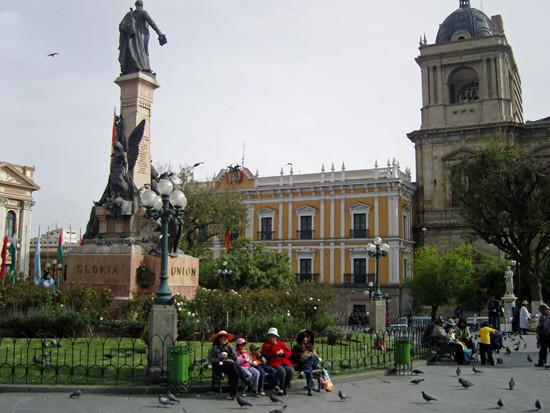 Plaza Murillo - Palacio del Gobierno
