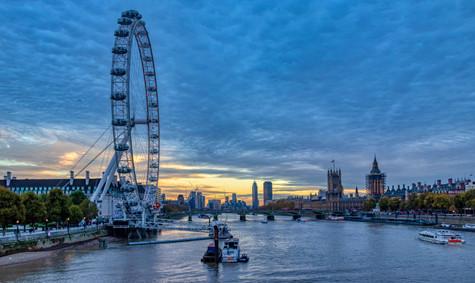 La grande roue - London 2017 Luminar + H