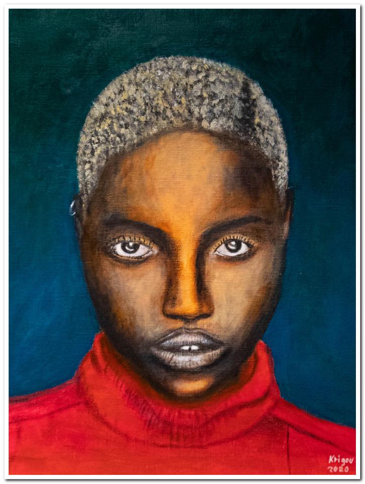 Black Magic Woman VII - Acrylique 40 x 30 - Réf.4520