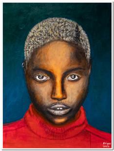 Black Magic Woman VII - Acrylique 30 x 40 - Réf.4520