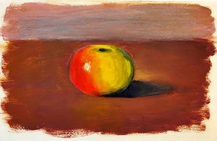 Ma première pomme à l'huile