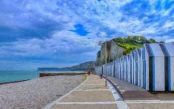 Promenade sur la plage d'Yport HDR-2.jpg