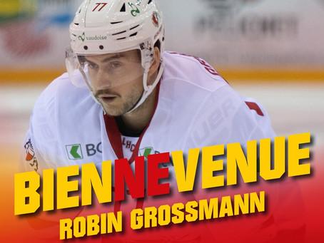 Robin Grossmann  rejoint le HC Bienne