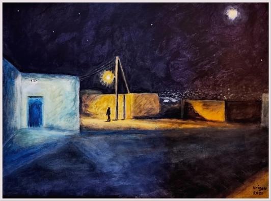 Nocturne I - CS1621 - Acrylique 40 x 30