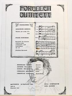 Affiche Forellen Quintett