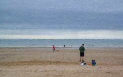 Sur une plage normande Luminar.jpg
