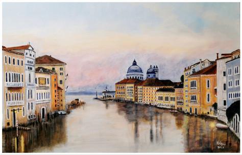 Impression vénitienne - CS1721- Acrylique 60 x 40