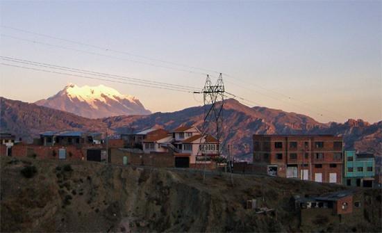 La montagne Ilimani