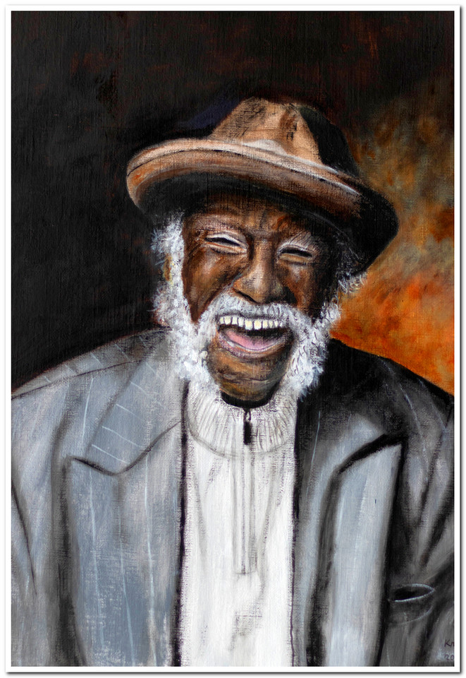 Ronald Scott Sr. - Acrylique 40 x 30 - CS4620