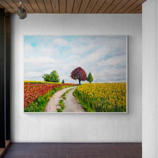 Around the House - CS4821 - Acrylique 40 x 30