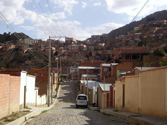La Paz - Le quartier de Kupini