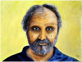 Autoportrait - Acrylique 40 x 30 - CS5520