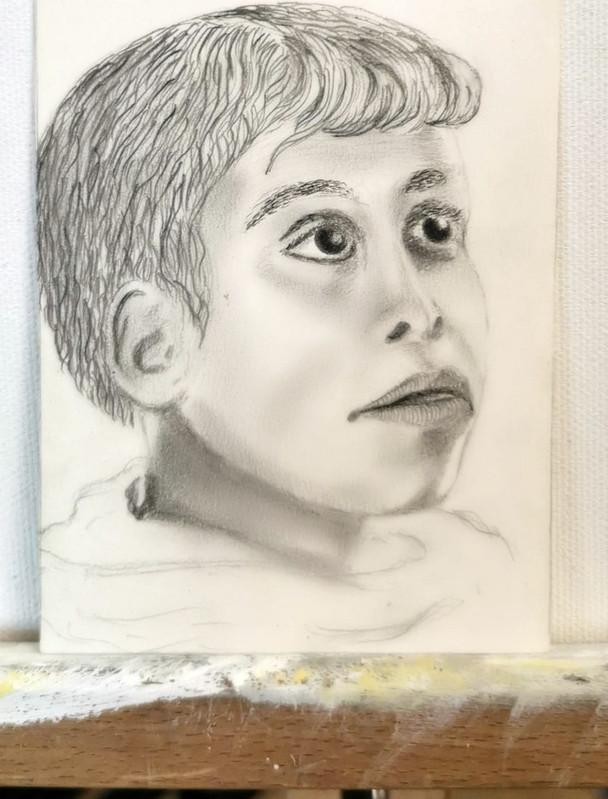 Portrait d'un enfant marocain