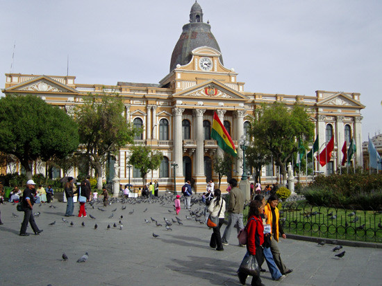 Plaza Murillo - Le parlement bolivien