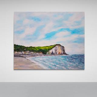 Un petit bout de Normandie - CS6821 - Acrylique 60 x 50