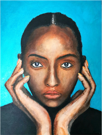 Black Magic Woman X - CS1421 - Acrylique 30 x 40