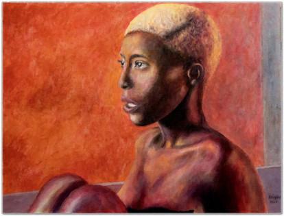 Black Magic Woman II - Acrylique 40 x 30