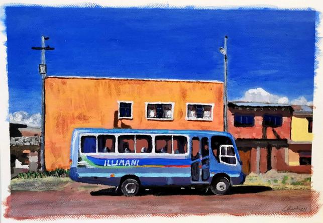 Le bus Illimani