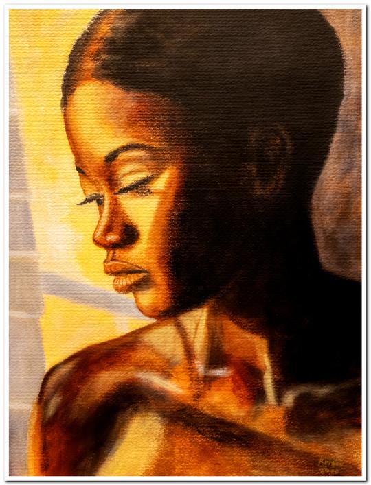 Black Magic Woman VIII - Réf. CS4920 - Acrylique 40 x 30
