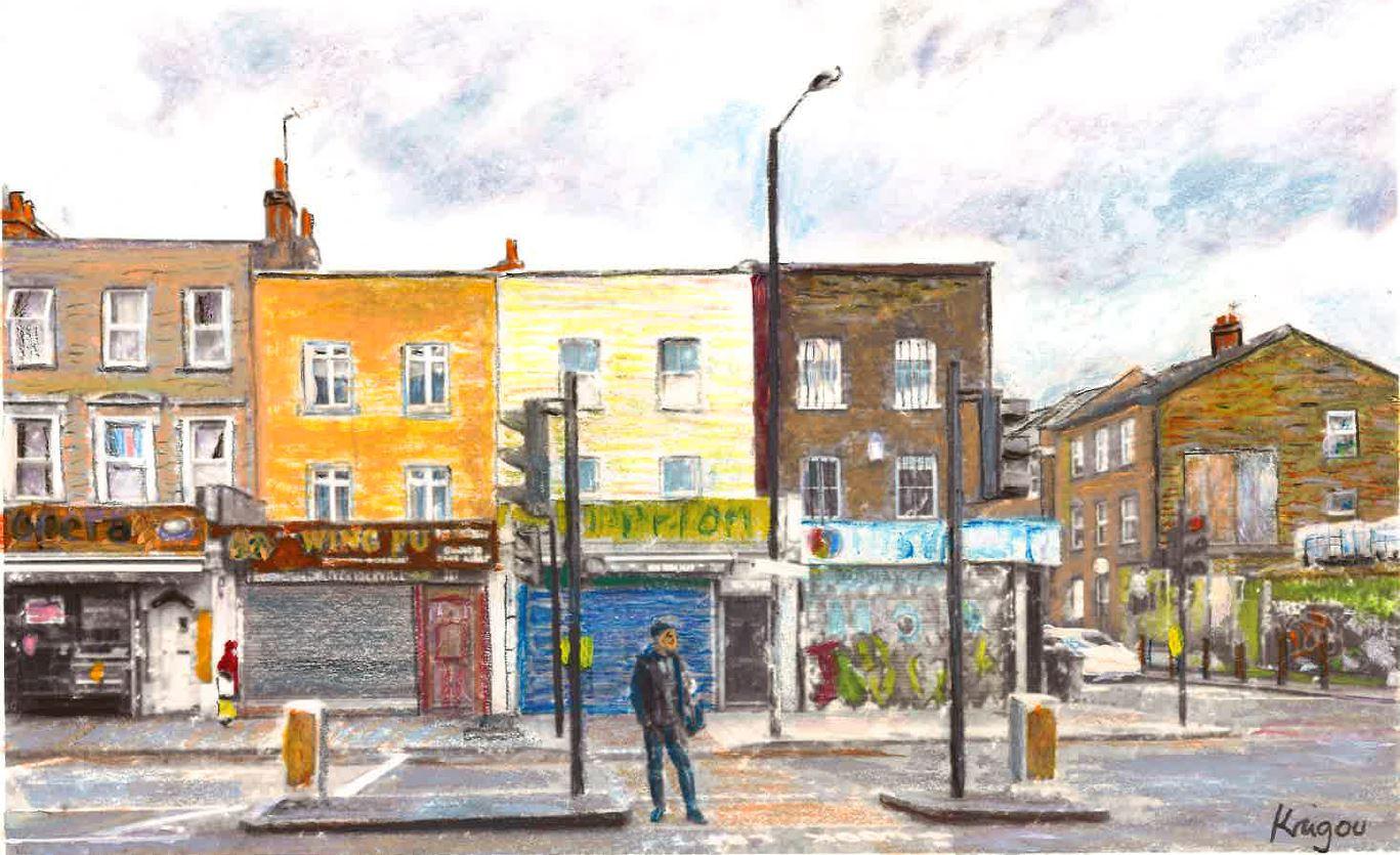 Street of London - Wing Fu - A4